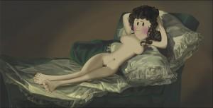 Menudo Arte - La-Maja_Desnuda