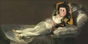 Menudo Arte - La_maja_vestida